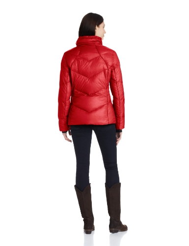 Calvin Klein Short Chevron Down 女式短款羽绒服美国亚马逊