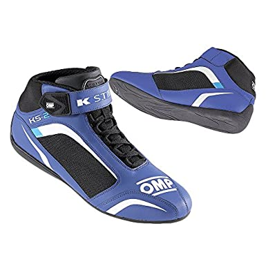 Omp - Chaussures Omp Ks-2 Bleu/Blanc 33