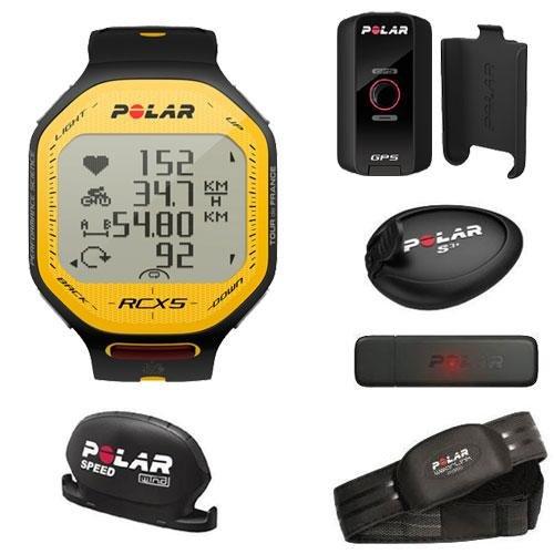 Polar RCX5 TDF Premium Heart Rate Monitor (Yellow/Black)
