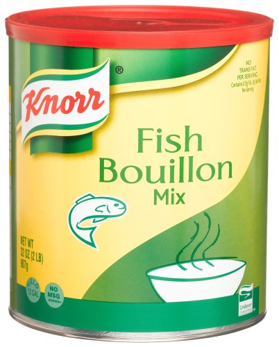 Knorr Fish Bouillion Mix, 32-Ounce Canister by Knorr