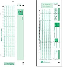 SCANTRON 882 LOVAS compatible- pack of 50 SHEET, These are GENUINE PDP 882 LOVAS Testing FORMS, ** USE: Scantron® 888P scanners