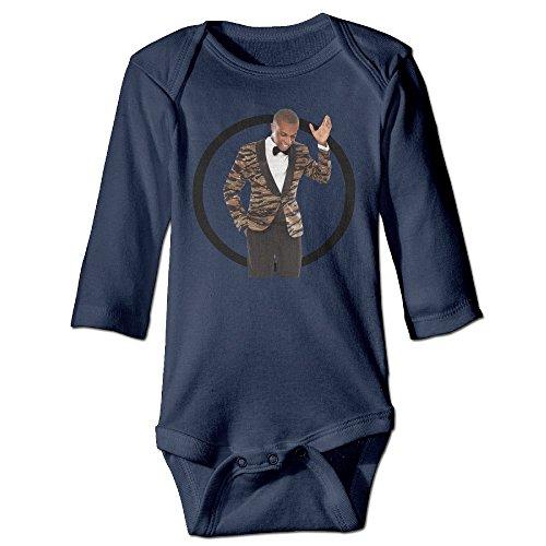 DETED Leslie Odom, Jr Fashion Boy & Girl Infants Climb Clothes Size18 Months Navy