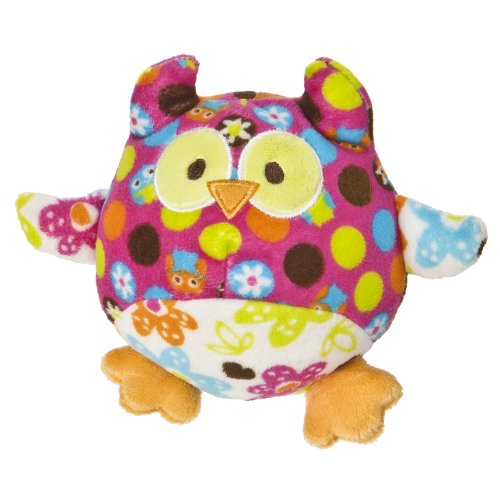 "Mary Meyer Print Pizzazz Hugaroo 5.5"" Hoots Owl Plush"