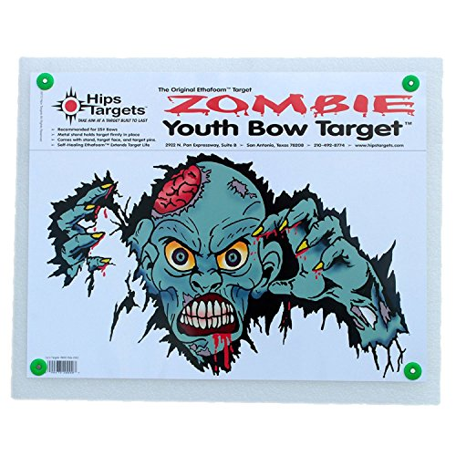 Hips Archery Targets Youth Zombie Bow Target (Archery Zombie Target compare prices)