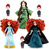Disney Brave Merida Mini Doll Set: Merida, Elinor, Triplets