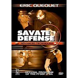 Savate Defense Advanced Techniques - Official Program of the FFSBF & DA with Eric Quequet