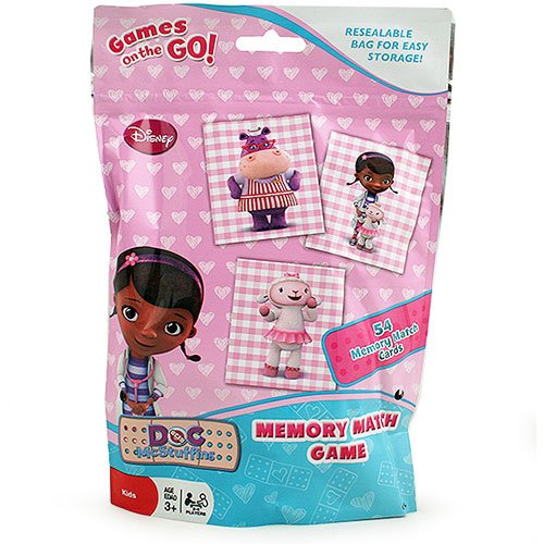 Doc McStuffins Memory Match Game in Resealable Bag - 1