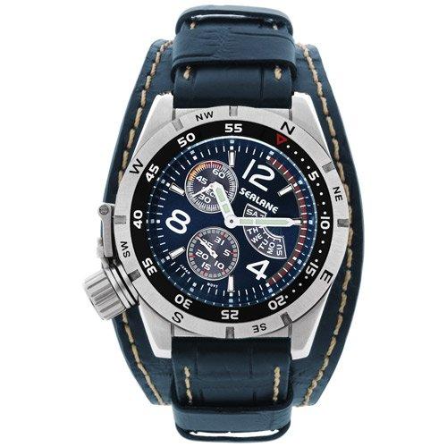 [シーレーン]SEALANE 腕時計 20BAR N夜光 SE46-LBL メンズ