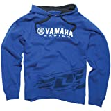 One Industries Yamaha Moderate Men's Hoody Pullover Casual Wear Sweatshirt/Sweater - Color: Blue, Size: 2X-Large