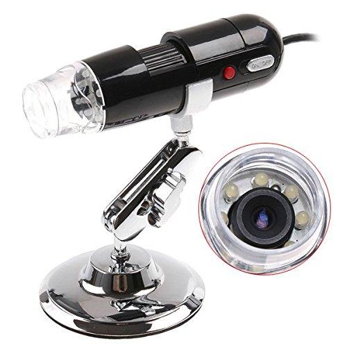 2Mp High Speed Dsp 2 Mega Pixels 200X 8Led Usb Digital Microscope Endoscope Magnifier Camera