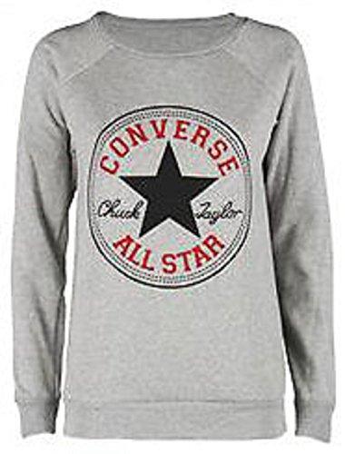 new-femmes-de-mesdames-design-converse-all-star-sweat-pull-m-uk-8-10-m-l-uk-12-14-s-muk8-10-gris