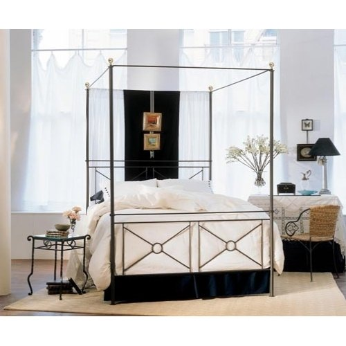 Iron Canopy Beds