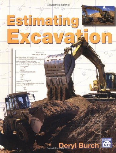 Estimating Excavation - Craftsman Book Co - CR263 - ISBN: 0934041962 - ISBN-13: 9780934041966
