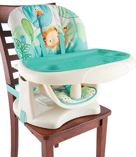 Bright Starts Playful Pals Chair Top High Chair Review