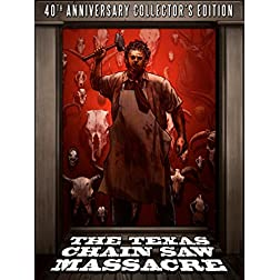 The Texas Chain Saw Massacre: 40th Anniversary Collector's Edition [Blu-ray]