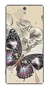 Upper Case Fashion Mobile Skin Sticker For Sony Xperia C5 Ultra