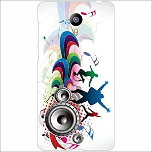 Meizu M2 Back Cover - Loudspeaker Designer Cases