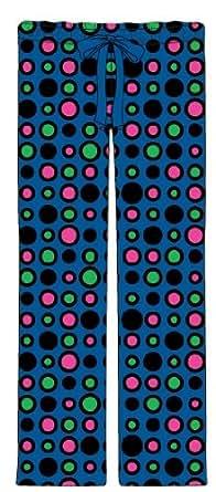 Women's Fall/Winter Plush Pants - Dots- X-Large