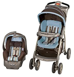 Evenflo Aura Select Travel System, Georgia Stripe (Discontinued by Manufacturer) (Discontinued by Manufacturer)