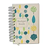 Organized Mom Budget Book. Monthly bill organizer. Bill tracker. Budget journal. Accounts book to keep track of personal finances. Pretty and sturdy budget organizer with pages to track home expenses and pockets to store receipts.