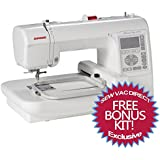 Janome Memory Craft 200E Embroidery Machine With Free Bonus Accessories!