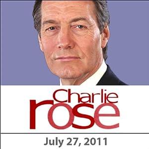 Charlie Rose: Alan Mulally, Rachel Weisz, and Kathy Bolkovac, July 27, 2011 Radio/TV Program