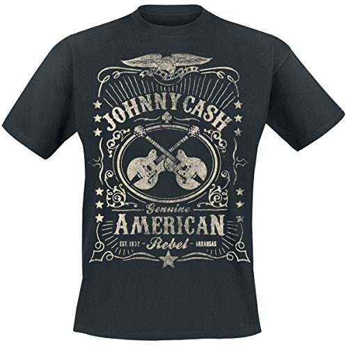 Johnny Cash American Rebel T-Shirt nero M