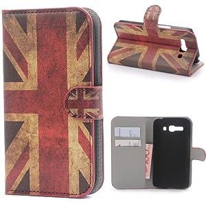 Funda Flip Case Cover Premium Standing Leather Funda Para Alcatel One Touch Pop C9 A03