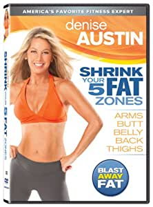 Amazon.com: Denise Austin: Shrink Your 5 Fat Zones: Denise