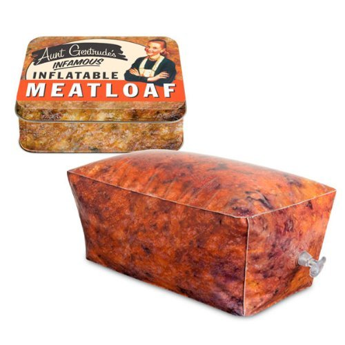 Aunt Gertrude's Infamous Inflatable Meatloaf Novelty Gift image