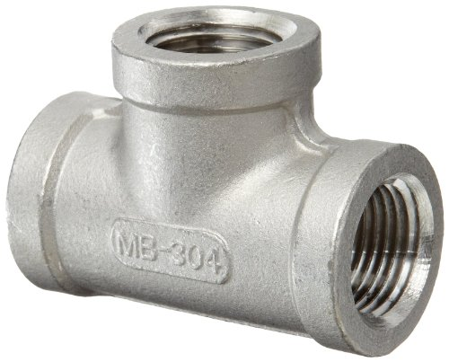 Stainless steel cast pipe fitting tee class