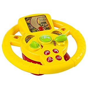 Color Baby - Volante multifunción con luz y sonidos (43044) de Color Baby en BebeHogar.com