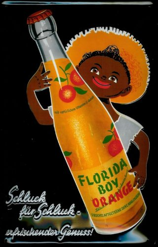 tin-sign-with-retro-florida-orange-boy-orange-juice-lemonade-advert-design