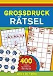 Gro�druck-R�tsel: 400 Seiten Spannend...
