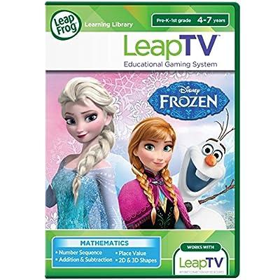 LeapFrog LeapTV: Disney Frozen: Arendelle's Winter Festival Educational