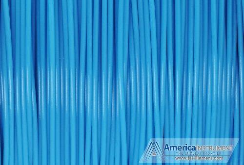Jet - ABS Filament (25 meters) for 3D Printer Makerbot, Reprap, Makergear, Ultimaker, Up!, etc. - USA (1.75mm, Glow Blue)