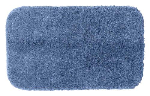Garland Rug Finest Luxury Ultra Plush Washable Nylon Rug, 24-Inch By 40-Inch, Basin Blue front-705608