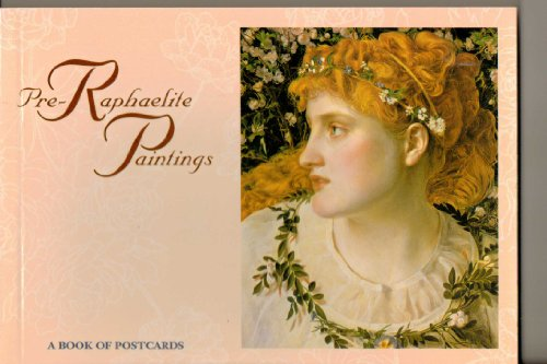 Pre-Raphaelite Paintings: Postcard Book