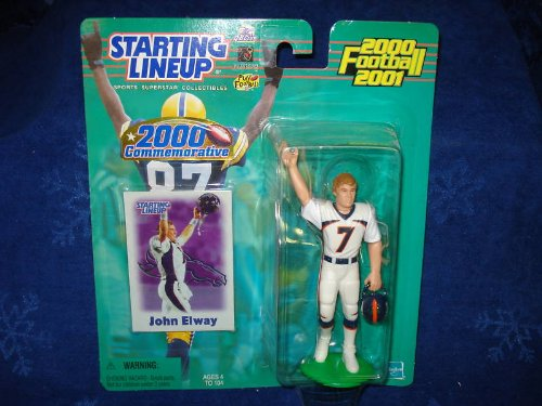 John Elway 2000 Commemorative Starting Lineup Action Figure