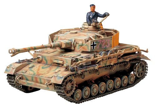 Tamiya Models Panzerkampfvagen Iv Ausf.J Sd.Kfz.161/2 Model Kit