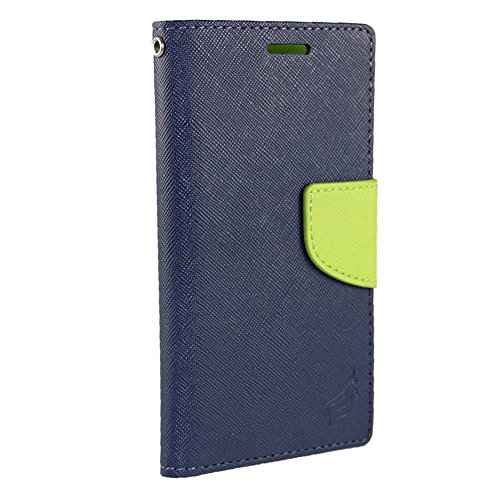 For Samsung Galaxy S Blaze T769 T-Mobile PU Leather Flip Cover Folio Book Style Pouch Card Slot Myjacket Wallet Case WORLD ACC TM Brand LCD Screen Protector Silver Stylus Pen Black Dust Cap Free Gift Pu Leather Wallet Navy Blue Green