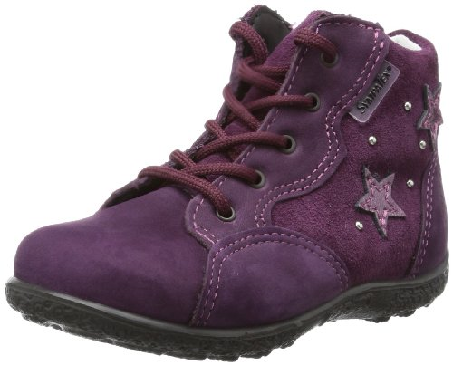 Ricosta Baby ADINE(M) First Walking Shoes Purple Violett (merlot 369) Size: 24