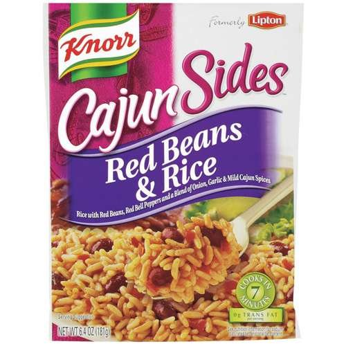 Knorr Cajun Sides Red Beans And Rice 5.1 Oz (Pack Of 3)