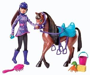 Mattel Y7563 - Barbie und ihre Schwestern im Pferdeglück Skipper, Puppe mit Pferd