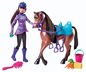 Barbie Skipper and Horse