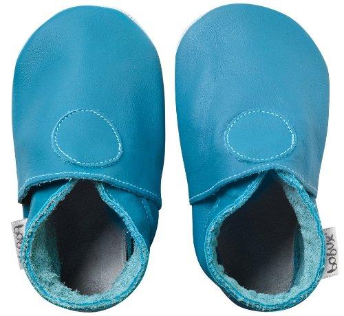 Bobux, Scarpine prima infanzia, colore: Azzurro, S/M, 3-9 mesi