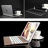 passion iPad Air2 スリムミニ Bluetooth キーボード ワイヤレスキーボード アルミ合金 ◇KBAIR2 (ゴールド)