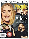 img - for Adele 2016 World Tour Magazine (People Collector's Edition) book / textbook / text book