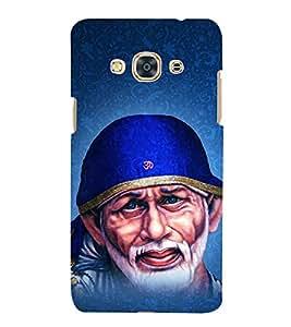 Om Sri Sai Adrishyaaya 3D Hard Polycarbonate Designer Back Case Cover for Samsung Galaxy J3 Pro