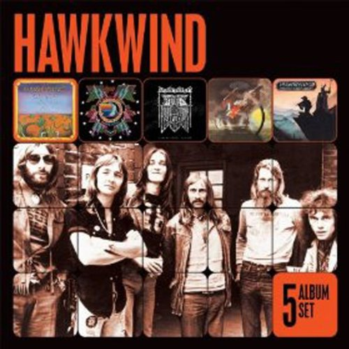 Hawkwind - 5 Albums